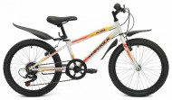 Велосипед MAVERICK 20' хардтейл, K 35 белый, 6 ск.