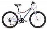 Велосипед MAVERICK 24' хардтейл, рама женская, L 42 белый, 7 ск.