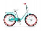 Велосипед 20' рама женская STELS PILOT-200 LADY тормоз V-brake, лимонный, 1 ск., 12'