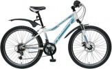 Велосипед TECH TEAM 24', хардтейл CASPER белый, 21 ск. 1709
