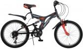 Велосипед 20' двухподвес NOVATRACK TITANIUM серый, 12ск. 20 SS12V.TITANIUM.GR6
