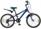 Велосипед NOVATRACK 20' хардтейл, рама алюминий, LUMEN синий, 6 ск. 20 AH6V.LUMEN.BL 8