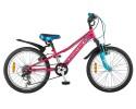 Велосипед NOVATRACK 20' хардтейл, VALIANT тормоз V-brake, коралловый, 6 ск. 20 SH6V.VALIANT.CRL 8