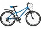 Велосипед STINGER 24' хардтейл, рама алюминий, BOXXER синий 12,5' 24 AHV. BOXX. 12BL 7