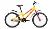 Велосипед 20' хардтейл, рама женская ALTAIR MTB HT 20 1.0 Lady мат.желт., 10,5' RBKN8JN01009 (20)