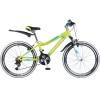 Велосипед 24' рама женская, алюминий NOVATRACK NOVARA лайм, 18ск., 12' 24AHV NOVARA.12 YL8 (20)