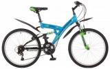 Велосипед 24' двухподвес STINGER BANZAI синий, 14' 24 SFV.BANZAI.14 BL 8