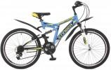 Велосипед STINGER 24' двухподвес, HIGHLANDER 100 V синий, 14'  24 SFV.HILAND 1.14 BL 7