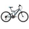 Велосипед 24' двухподвес STINGER HIGHLANDER серый, 14' 24 SFV.HILANDER 14 GR 8