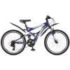 Велосипед STINGER 24' двухподвес, VERSUS синий, 16,5' 24 SFV.VERSUS.16 BL 7