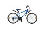 Велосипед FOXX 24' хардтейл, AZTEC синий/белый, 6ск. 24 SHV. AZTEC.14 BL 8
