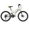 Велосипед 24' двухподвес STINGER HIGHLANDER D диск, белый, 14' 24 SFD. HILANDISC.14 WH 8