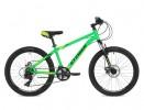 Велосипед STINGER 24' хардтейл, ARAGON зеленый 14 ск., 14' 24 SHD. ARAGON.14 GN 8