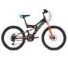 Велосипед 24' двухподвес STINGER HIGHLANDER D диск, черный, 14' 24 SFD. HILANDISC.14 BK 8