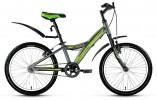 Велосипед 20' рама алюминий FORWARD COMANCHE 1.0 серый, тормоз V-brake, 1ск., 10,5' RBKW81601003