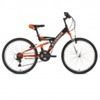 Велосипед 24' двухподвес STINGER BANZAI черый, 14' 24 SFV. BANZAI. 14 BK 8