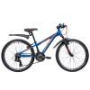 Велосипед 24' хардтейл, рама алюм. NOVATRACK EXTREME, V-br,син.,21ск.,11'  24AHV.EXTREME.11BL9 (20)