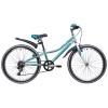 Велосипед 24' рама женская NOVATRACK ALICE тормоз V-brake, голубой 6 ск., 10' 24 SH 6SV.ALICE.10 BL9