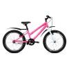 Велосипед 20' хардтейл ALTAIR MTB HT 20 low розовый, 6 ск., 10,5' RBKN91N01003 (20)
