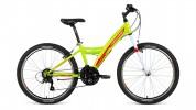 Велосипед 24' хардтейл FORWARD DAKOTA 24 1.0 зеленый/красный, 18 ск., 13' RBKW91N4P003 (20)