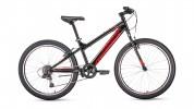 Велосипед 24' хардтейл FORWARD TITAN 24 1.0 черный, 6 ск., 13' RBKW91N47003