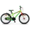Велосипед 20' рама алюминий STELS PILOT-250 Gent неон-зеленый/неон-красный, 1 ск., 11' V010 (А21)