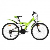 Велосипед 24' двухподвес FOXX Attack зеленый, 14' 24 SFV.ATTAC.14 GN 9