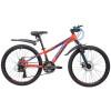 Велосипед 24' хардтейл, рама алюм. NOVATRACK EXTREME диск,оранж.,21ск.,13' 24 AHD.EXTREME.13 OR 9