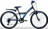 Велосипед 24' хардтейл NOVATRACK RACER тормоз V-brake, черный, 6 ск., 10' 24 SH 6V.RACER.10 BK 20