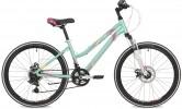 Велосипед 24' рама женская, алюм. STINGER LAGUNA D диск, зеленый, 14' 24 AHD.LAGUNAD.14 GN 9