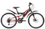 Велосипед 24' двухподвес FOXX FREELANDER диск, черный, 14' 24 SFD.FREELD.14 BK 9