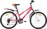 Велосипед 24' хардтейл, рама женская FOXX SALSA розовый, 6 ск. 24 SHV.SALSA.14 PN 9