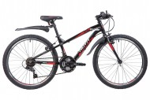 Велосипед 20' рама алюминий NOVATRACK PRIME чёрный, 6 ск., V-brake 20AH6V.PRIME.BK9