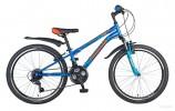 Велосипед 24' хардтейл NOVATRACK ACTION синий 12', 18ск., V-brake 24SH18SV.ACTION.12BL