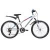 Велосипед 24' хардтейл NOVATRACK EXTREME белый, 6 ск., 12' V-brake 24SH6SV.EXTREME.12WT