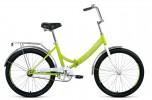 Велосипед 24' складной FORWARD VALENCIA 24 2.0 зеленый/серый, 6 ск., 16' RBKW0YN46004