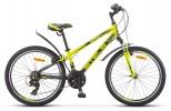 Велосипед 24' хардтейл, рама алюминий STELS NAVIGATOR-440 V лайм, 18 ск., 13' (LU079918)