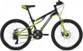 Велосипед 24' двухподвес STINGER DISCOVERY D черный, 14' 24SFD.DISCOD.14BK0
