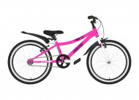 Велосипед 20' рама женская, алюминий NOVATRACK PRIME AGV розовый, V-brake 207APRIME1V.PN20