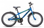 Велосипед 20' хардтейл STELS PILOT-200 Gent синий 11' 1 ск. Z010