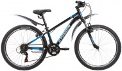 Велосипед 24' хардтейл, рама алюминий STINGER ELEMENT STD черный, 12' 24AHV.ELEMSTD.12BK1