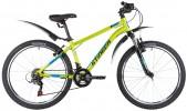 Велосипед 24' хардтейл, рама алюминий STINGER ELEMENT STD зеленый, 14' 24AHV.ELEMSTD.14GN1