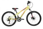 Велосипед 24' хардтейл NOVATRACK ACTION зеленый 11', 18ск. 24SH18SD.ACTION.11GN21