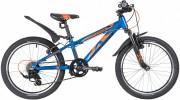 Велосипед 24' хардтейл NOVATRACK EXTREME тормоз V-brake, синий 6 ск., 12' 24SH 6SV.EXTREME.12 BL21