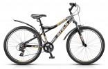 Велосипед 26' хардтейл, рама алюминий STELS NAVIGATOR-510 белый/черный/голубой/красный, 21ск., 16'