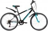 Велосипед 24'  хардтейл FOXX MANGO, черный, 6ск., 12' 24SHV.MANGO.12BK1