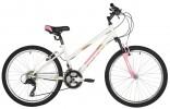 Велосипед 24' рама женская FOXX SALSA V-brake, белый, 12' 24SHV.SALSA.12WH1