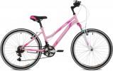 Велосипед 24' хардтейл, рама женская STINGER LATINA розовый, 12' 24SHV.LATINA.12PK10 (А21)