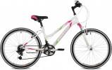 Велосипед 24' хардтейл, рама женская STINGER LATINA белый, 12' 24SHV.LATINA.12WH10