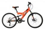 Велосипед 24' хардтейл FOXX FREELANDER, оранжевый, 18ск., 14' 24SFD.FREELD.14OR1